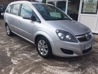 USED 2012 12 VAUXHALL ZAFIRA 1.8 DESIGN 7 SEATER FAMILY VALUE...!!! WOW...!!!