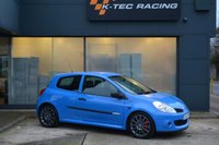 USED 2008 RENAULT CLIO RENAULTSPORT CLIO 197 CUP JUST 15,000 MILES, FRENCH RACING BLUE, FULL SERVICE HISTORY, CAMBELT JUST CHANGED