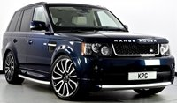 USED 2012 12 LAND ROVER RANGE ROVER SPORT 3.0 SD V6 HSE 4X4 5dr Auto [8] Autobiography Ext Pk, Rear DVD