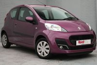 USED 2012 62 PEUGEOT 107 1.0 ACTIVE 3d 68 BHP A/C +FREE TAX +LOW INSURANCE