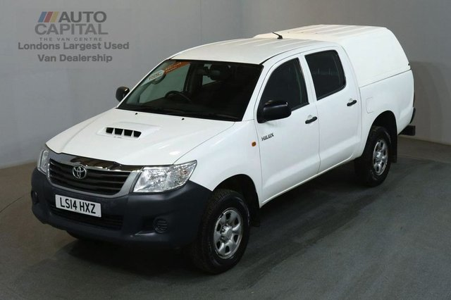 2014 14 TOYOTA HI-LUX 2.5 ACTIVE 4X4 D-4D DCB 142 BHP AIR CON PICK UP £8,990 PLUS VAT / AIR CONDITION