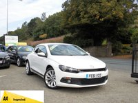 2011 VOLKSWAGEN SCIROCCO 2.0 GT TDI BLUEMOTION TECHNOLOGY 2d 140 BHP £SOLD
