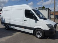 USED 2015 15 MERCEDES-BENZ SPRINTER 313 CDI MWB HI ROOF, 130 BHP [EURO 5], 1 COMPANY OWNER