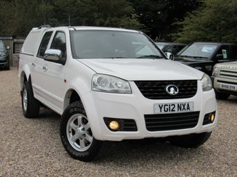 2012 GREAT WALL STEED 2.0 TD S 4X4 DCB 4d 141 BHP £7000.00
