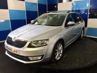 "USED 2016 16 SKODA OCTAVIA 2.0 SE L TDI 5d 148 BHP A stunning example of this very highly regarded family diesel estate finished in unmarked metalic silver contrasted with 10 spoke 17"" alloy wheels .This car comes fully equiped with satelite navigation,bluetooth phone prep ,cruise control/speed limiter ,tyre pressure monitoring system, dab radio with usb/aux and media interface ,half leather/alcantara trim plus all the usual refinements,road fund of only £20 a year in conjunction with a combined ecconomy of 70.6 mpg,deffinitely one to concider."