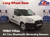 USED 2014 64 FIAT DOBLO 1.6 16V MULTIJET 1d 105 BHP *Long Wheel Base* Air Con, Bluetooth, Twin Sliding Doors, Rear Parking Sensors *Over The Phone Low Rate Finance Available*   *UK Delivery Can Also Be Arranged*           ___       Call us on 01709 866668