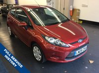 2009 FORD FIESTA 1.2 STYLE PLUS 3d 81 BHP £3980.00