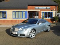 USED 2004 BENTLEY CONTINENTAL 6.0 GT 2d 550 BHP 2 OWNERS FULL BENTLEY SERVICE HISTORY PLUS 2 SPECIALIST STAMPS!  MULLINER ALLOYS!