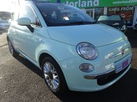 USED 2014 14 FIAT 500 1.2 LOUNGE 3d 69 BHP ** 01543 877320 ** JUST ARRIVED **