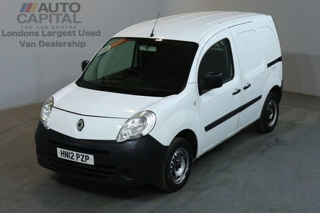 2012 12 RENAULT KANGOO 1.5 ML19 DCI 90 BHP SWB, NO VAT TWO OWNER NO VAT