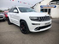2014 JEEP GRAND CHEROKEE 6.4 HEMI SRT8 5d AUTO 461 BHP £SOLD
