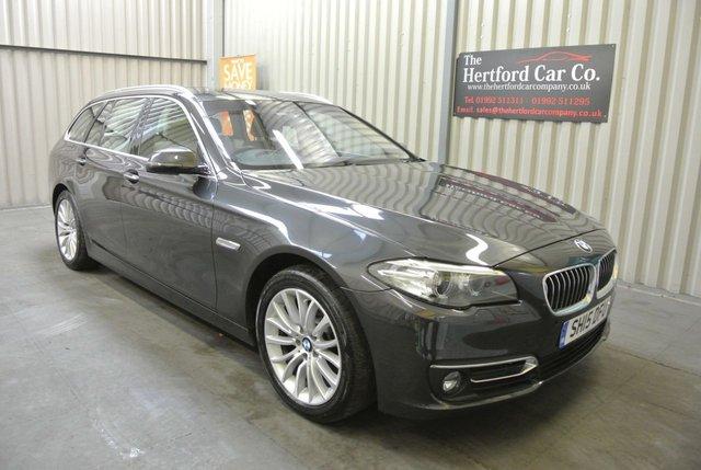 2015 15 BMW 5 SERIES 2.0 520D LUXURY TOURING 5d AUTO 188 BHP