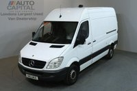 USED 2012 12 MERCEDES-BENZ SPRINTER 2.1 313 CDI MWB 5d 129 BHP H/ROOF PANEL VAN ONE OWNER FULL S/H SPARE KEY