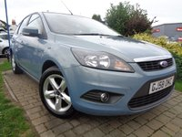 USED 2008 58 FORD FOCUS 1.6 ZETEC 5d 100 BHP **Very Tidy Example Low Mileage Full Service History 9 Services 12 Months Mot**