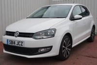 USED 2014 14 VOLKSWAGEN POLO 1.2 MATCH EDITION 5d 59 BHP FULL SERVICE HISTORY