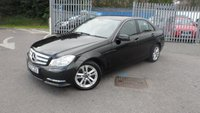 2012 MERCEDES-BENZ C CLASS 2.1 C200 CDI BLUEEFFICIENCY EXECUTIVE SE 4d 135 BHP £8995.00