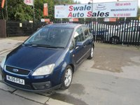 USED 2005 05 FORD C-MAX 1.6 C-MAX ZETEC 5d 100 BHP FINANCE AVAILABLE FROM £19 PER WEEK OVER TWO YEARS - SEE FINANCE LINK
