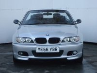 USED 2006 56 BMW 3 SERIES 2.0 318CI M SPORT 2d 148 BHP BUY NOW AT THE WINTER PRICE READY FOR SUMMER, BMW M3 STYLE WHEELS AND MIRRORS, BLUE ELECTRIC ROOF.