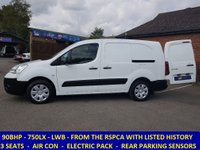 2011 CITROEN BERLINGO 750LX LWB WITH AIR-CON & ELECTRIC PACK FROM THE RSPCA £4795.00