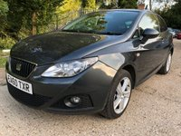 2010 SEAT IBIZA 1.4 SPORT 3d 85 BHP £3890.00