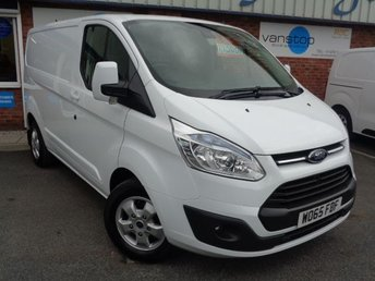 2016 FORD TRANSIT CUSTOM 2.2 290 LIMITED LR P/V 1d 124 BHP £11500.00