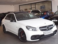 USED 2015 15 MERCEDES-BENZ E 63 AMG 5.5 E63 AMG 4d AUTO 550 BHP NIGHT PACK+EXTENDED WARRANTY