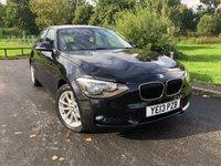 2013 BMW 1 SERIES 2.0 116D SE 5d 114 BHP £7949.00