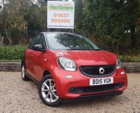 USED 2015 15 SMART FORFOUR 1.0 PASSION PREMIUM 5dr Air Con, Cruise, PDC