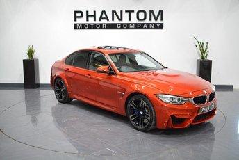 2016 BMW M3 3.0 M3 4d AUTO 426 BHP £36490.00