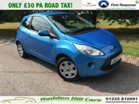 USED 2010 59 FORD KA 1.2 STYLE 3d 69 BHP Only £30 Per Year Road Tax!