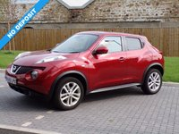 USED 2010 60 NISSAN JUKE 1.6 ACENTA SPORT 5d 117 BHP PRICE BLITZ REDUCED BY £600.00 .............ABSOLUTELY STUNNING LOOKING CAR !!!