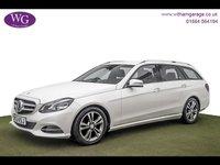 USED 2013 63 MERCEDES-BENZ E CLASS 2.0 E250 SE 5d AUTO 208 BHP