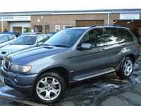 USED 2004 53 BMW X5 3.0 SPORT 24V 5d AUTO 228 BHP GREAT VALUE 4X4 + NEW MOT