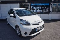 USED 2013 13 TOYOTA AYGO 1.0 VVT-I ICE 5d 68 BHP Full Toyota History, 1 Owner Air Conditioning,Bluetooth