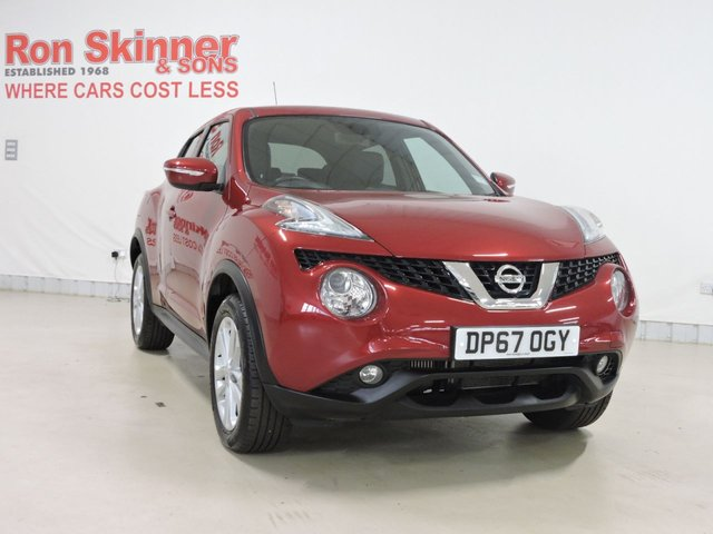 View our 2018 67 NISSAN JUKE 1.2 N-CONNECTA DIG-T 5d 115 BHP