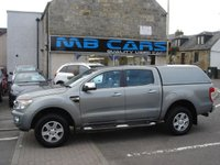 """USED 2013 13 FORD RANGER 2.2 LIMITED 4X4 DCB TDCI 4d 148 BHP 2 OWNERS,ONLY 49000 MILES FROM NEW,FULL SERVICE HISTORY,""""NO VAT"""""""