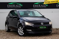 USED 2013 13 VOLKSWAGEN POLO 1.4 MATCH 5d 83 BHP £0 DEPOSIT FINANCE AVAILABLE, AIR CONDITIONING, AUX/CD/RADIO, BLUETOOTH CONNECTIVITY, CLIMATE CONTROL, DAB RADIO, DAYTIME RUNNING LIGHTS, TINTED GLASS, TRIP COMPUTER