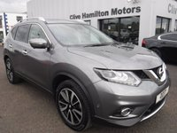 USED 2017 66 NISSAN X-TRAIL 1.6 DCI TEKNA 5d 130 BHP LEATHER & PAN ROOF