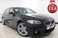 USED 2013 63 BMW 5 SERIES 3.0 530D M SPORT 4DR AUTOMATIC 255 BHP SAT NAV 1 Owner Full Service History FULL BMW SERVICE HISTORY + HEATED LEATHER SEATS + SATELLITE NAVIGATION PROFESSIONAL + PARKING SENSOR + BLUETOOTH + CRUISE CONTROL + MULTI FUNCTION WHEEL + CLIMATE CONTROL + 19 INCH ALLOY WHEELS