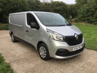 USED 2015 65 RENAULT TRAFIC 1.6 LL29 BUSINESS PLUS DCI S/R P/V 1d 115 BHP HIGH SPEC, 1 OWNER, LONG WHEEL BASE,