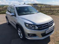 2013 VOLKSWAGEN TIGUAN 2.0 R LINE TDI BLUEMOTION TECHNOLOGY 4MOTION 5d 139 BHP £13995.00