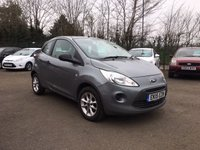 USED 2015 15 FORD KA 1.2 STUDIO PLUS 3d  LOW TAX AND INSURANCE  NO DEPOSIT ECP/PCP/HP FINANCE ARRANGED, APPLY HERE NOW