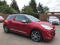 USED 2015 15 CITROEN DS3 1.6 BLUEHDI DSIRE 3d 120 BHP WITH BLUETOOTH, ALLOYS AND SERVICE HISTORY NO DEPOSIT ECP/HP FINANCE ARRANGED, APPLY HERE NOW