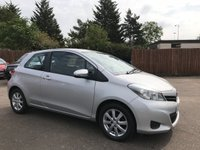 USED 2013 13 TOYOTA YARIS 1.3 VVT-I TR 3d LOW  INSURANCE GROUP, AND REVERSE CAMERA NO DEPOSIT ECP/HP FINANCE ARRANGED, APPLY HERE NOW