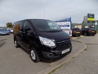 2014 FORD TRANSIT CUSTOM 2.2 290 LIMITED LR P/V 1d 124 BHP £9495.00