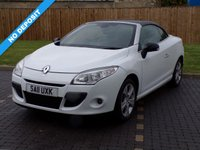 USED 2011 11 RENAULT MEGANE 1.4 DYNAMIQUE TOMTOM TCE 2d 130 BHP