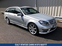 USED 2011 11 MERCEDES-BENZ C CLASS 1.8 C250 PETROL AMG SPORT ESTATE AUTO 202 BHP 2 OWNERS, FULL MB HISTORY, SAT NAV, FULL LEATHER