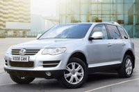 USED 2008 08 VOLKSWAGEN TOUAREG 2.5 SE DPF 5d AUTO 172 BHP Good Service History With 8 Entries.Superb Condition Throughout.