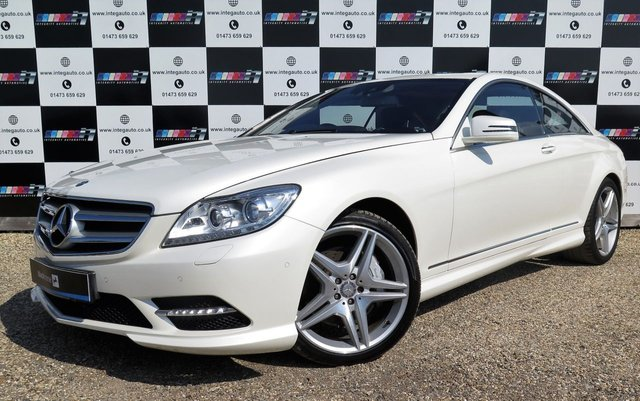 2014 14 MERCEDES-BENZ CL 4.7 CL500 BLUEEFFICIENCY 2d AUTO 435 BHP