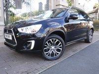 2015 MITSUBISHI ASX 2.3 DI-D ZC-H 5d AUTO 147 BHP £13495.00